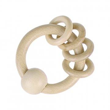 Untreated Natural Wood Touch Rings
